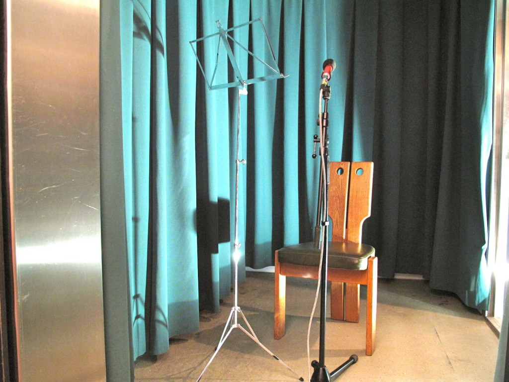 Sprecherkabine